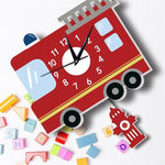 Children's Clock with Pendulum<br> Fire Truck - My Wall Clock