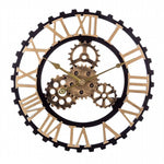 Clock Steampunk Wood Worked - My wall clocks