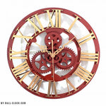 Industrial Clock Steampunk - My wall clocks