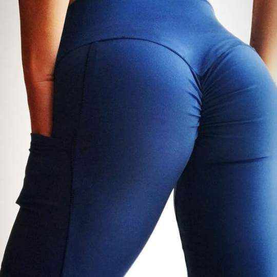 Bubble Butt Scrunch + Pockets Leggings