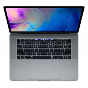 Apple MacBook Pro 2018  15.4 inch with Touch Bar and Touch ID, 256GB SSD , 16GB RAM, 2.2 GHz 6-cores Intel Core i7 , 4GB Radeon Pro 555X, Space Gray, Macos High Sierra, VAT INCLUDED