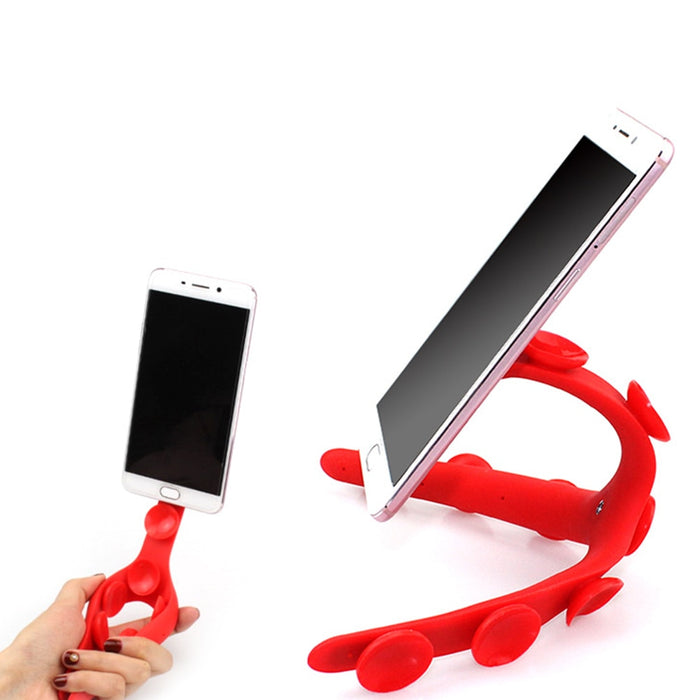 Octopus Silicon Phone Holder - Chur chill