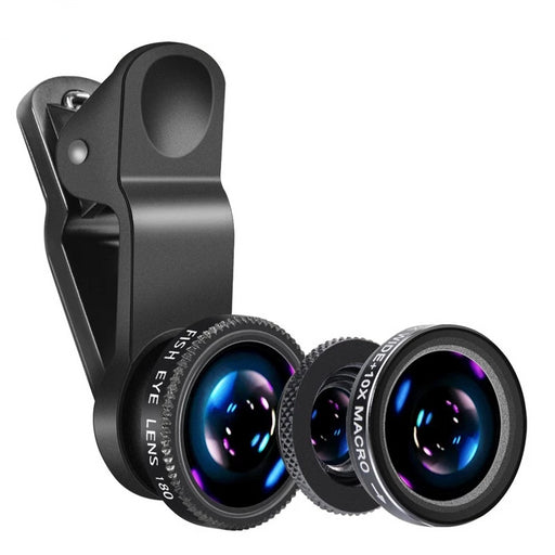 3 in 1 Universal Mobile Phone Lens - Chur chill
