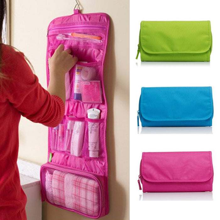 Wall Mounted Travel Toiletry Bag - Chur chill
