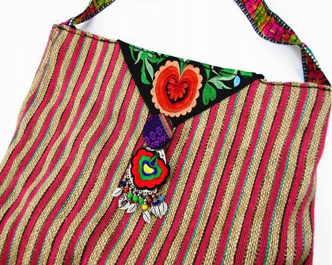 sac indien vintage , style indien ethnique - Amary yoga