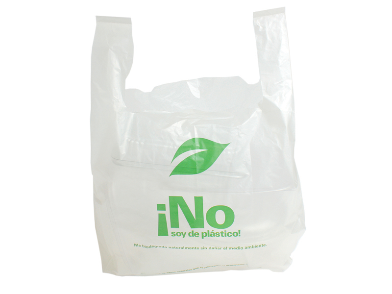 Bolsa Camiseta Oxo Degradable