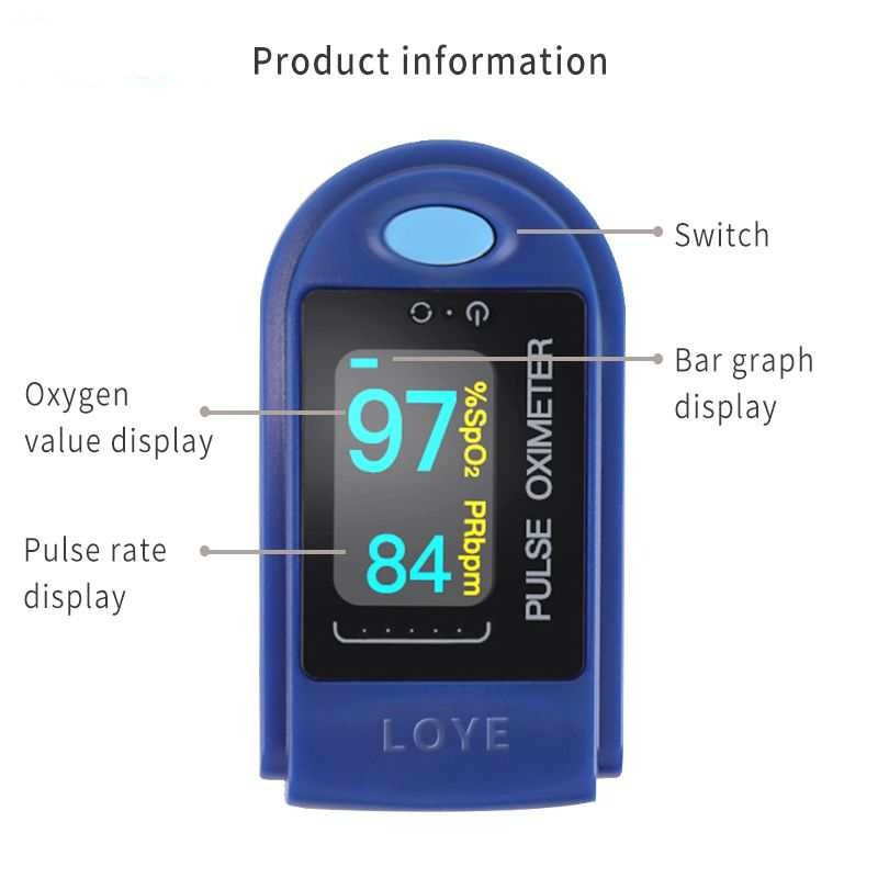 Finger Pulse Oximeter - $ 29.95 USD - iRelax® Novelty Store