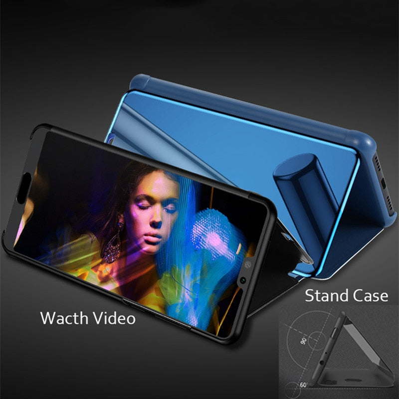 Mirror Flip Case For Huawei Smartphone - $ 14.95 USD - iRelax® Novelty Store