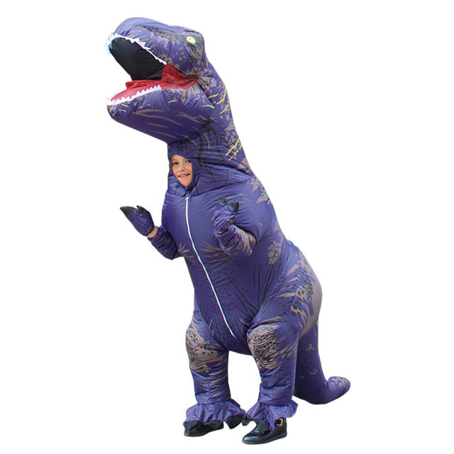 Party Adult & Children Inflatable T-Rex Suit - $ 69.95 USD - iRelax® Novelty Store