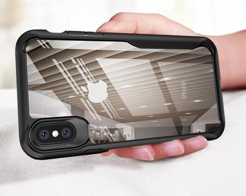 Shockproof Armor Transparent Case For iPhone - $ 21.95 USD - iRelax® Novelty Store