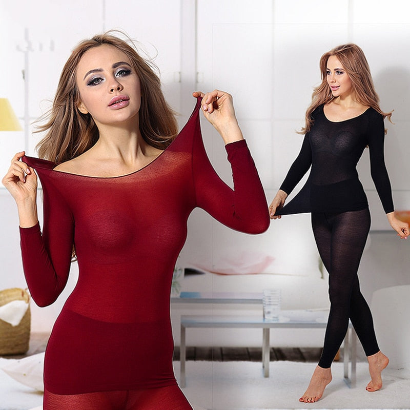 Seamless Elastic Thermal Inner Wear - $ 29.95 USD - iRelax® Novelty Store