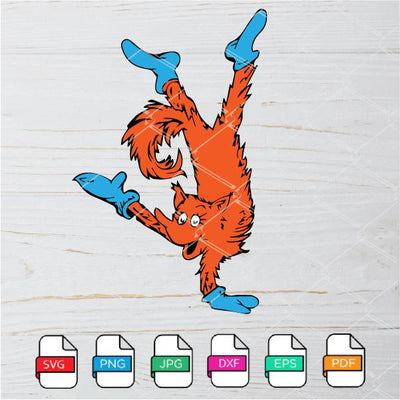 Fox In Socks SVG - Fox In Socks Dr Seuss SVG Newmody
