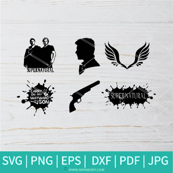 Supernatural SVG - Supernatural bundle SVG - Dean SVG - Sam  SVG