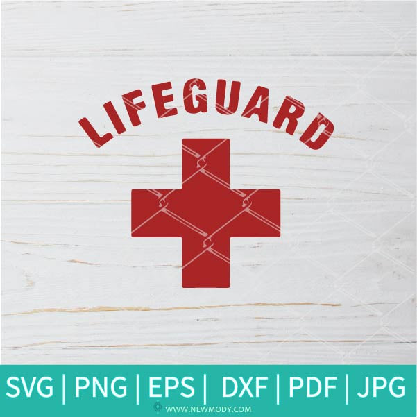 Lifeguard SVG -  Beach SVG - Stay Safe SVG - Swimming SVG