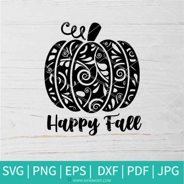 Happy Fall SVG - Fall svg - Autumn SVG - Pumpkins SVG