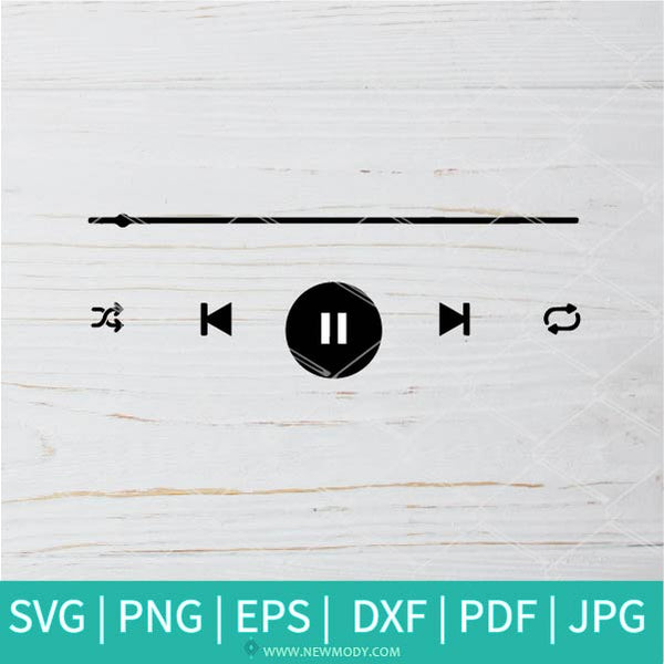 Music Player Buttons Svg Music Svg Music Buttons Svg