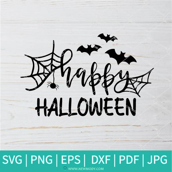 Happy Halloween SVG - Halloween SVG - Nightmare SVG