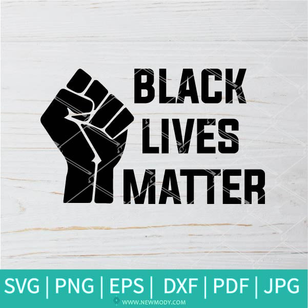 Black Lives Matter svg - RIP George Floyd  SVG -Justice For George Floyd  SVG