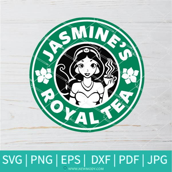 Jasmine Starbucks SVG - Jasmine's Royal Tea SVG - Starbucks SVG