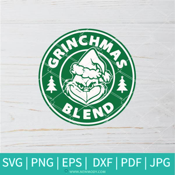 Merry Grinchmas SVG - Grinch Face SVG - Christmas SVG