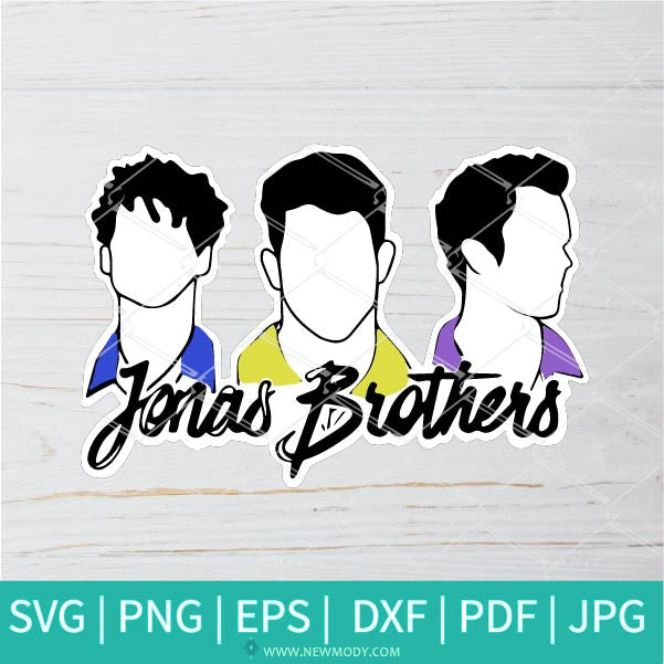 Jonas Brothers SVG - happiness begins SVG - Jonas SVG - Music SVG