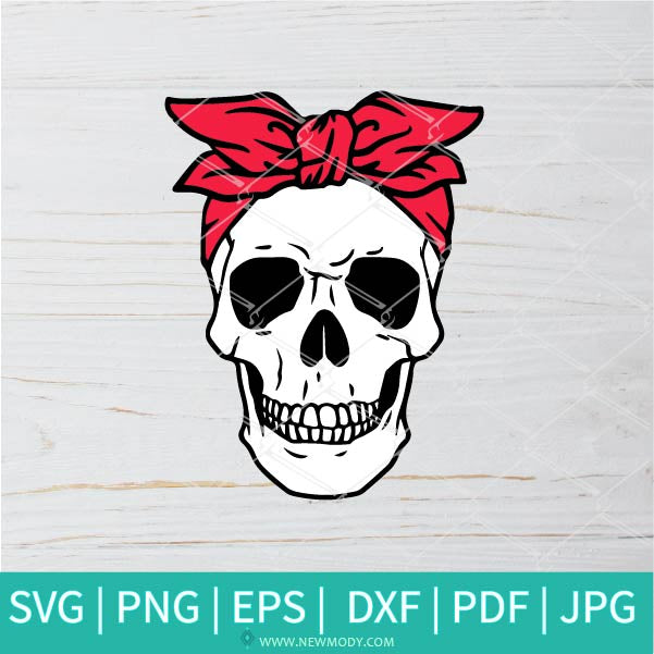 Skeleton SVG -Day of The Dead SVG - Sugar Skull Svg - Skull Women SVG