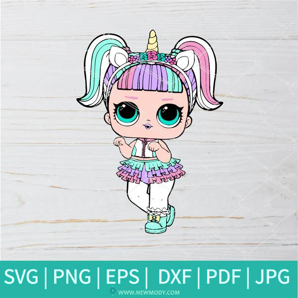 Lol Unicorn SVG - Lol Surprise Dolls SVG - Lol Unicorn SVG