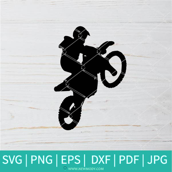 Motocross SVG - Quad Rider  svg - Moto SVG - dirt bike SVG