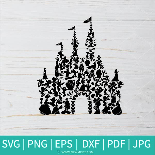 Disney Castle SVG - Disney SVG