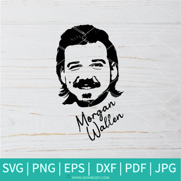 Morgan Wallen SVG - Singer  SVG - Music   SVG - Songwriter SVG -  Morgan Wallen Tshirt svg