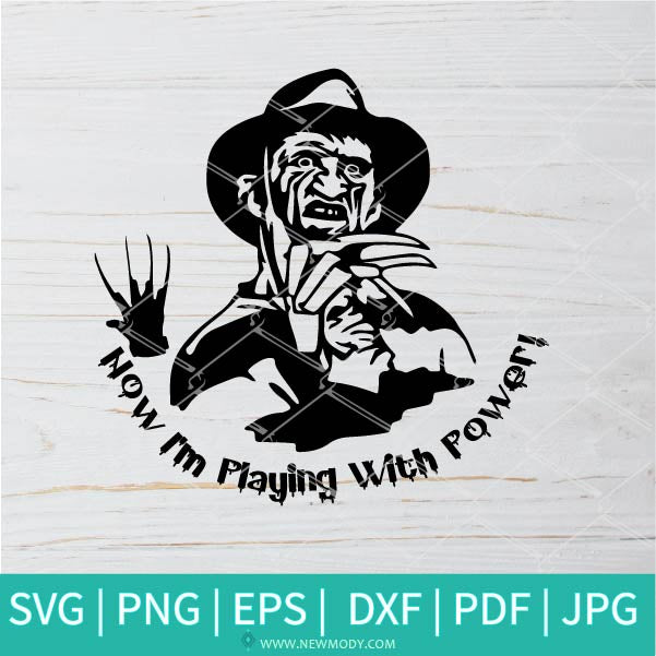 Freddy Krueger SVG -  Friends Horror SVG - Horror SVG