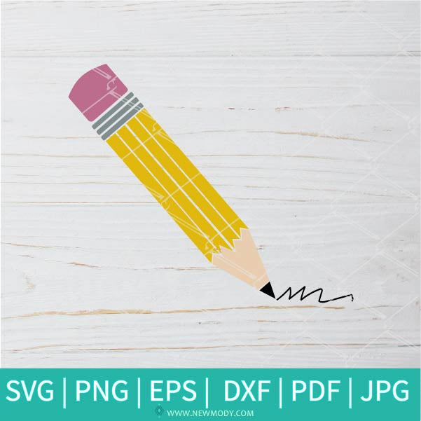 Pencil SVG - Teacher In QuarantineSVG - Students SVG