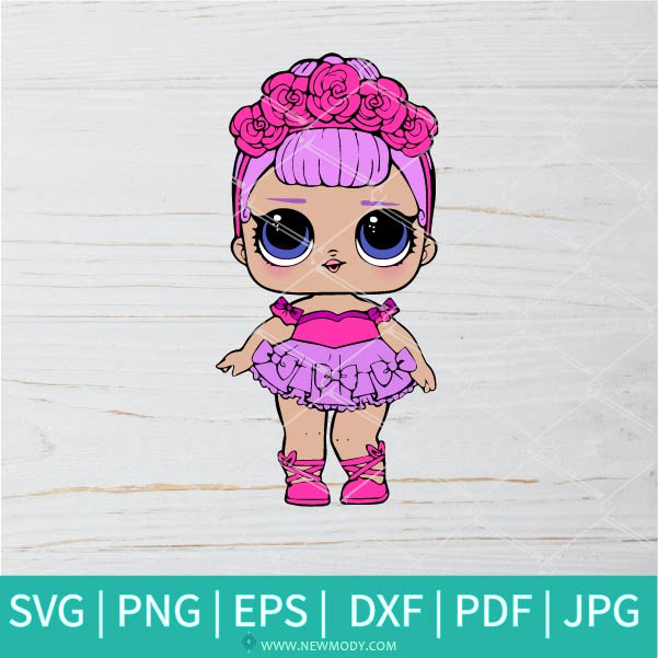 Sugar Queen SVG - Lol Surprise Dolls SVG - Lol Doll SVG