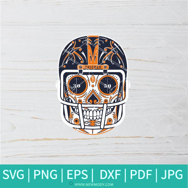Chicago Skeleton SVG - Chicago Bears SVG - Chicago Bears Logo SVG - American football SVG