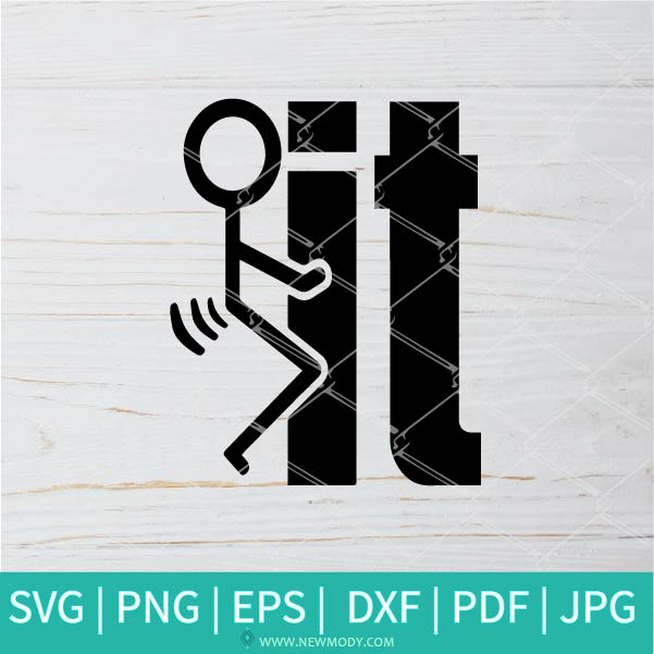 Fuck It SVG - Fuck Off SVG - Middle Finger SVG