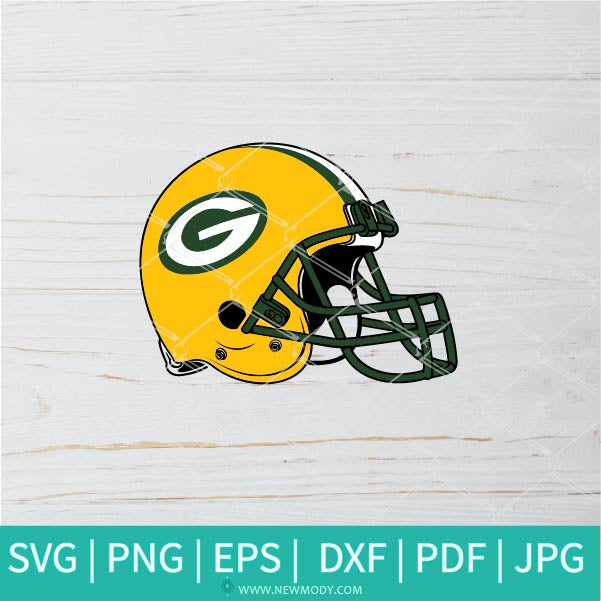 Green Bay Packers SVG - Packers SVG - Football Helmet SVG - Football svg