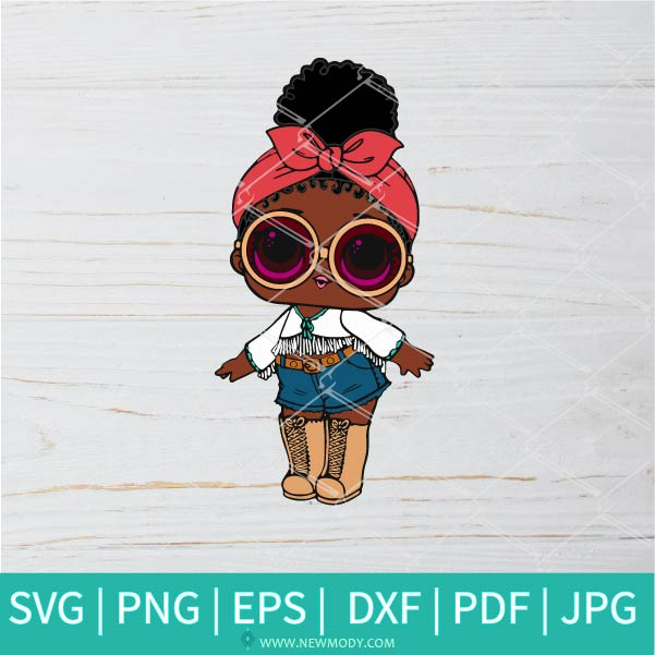 Foxy SVG - Lol Surprise Dolls SVG - Lol Doll SVG