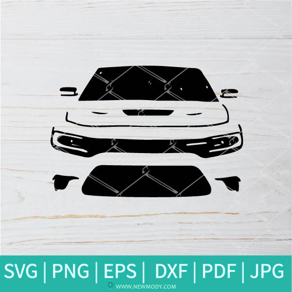 Car Front SVG - Car SVG - Car Lovers SVG