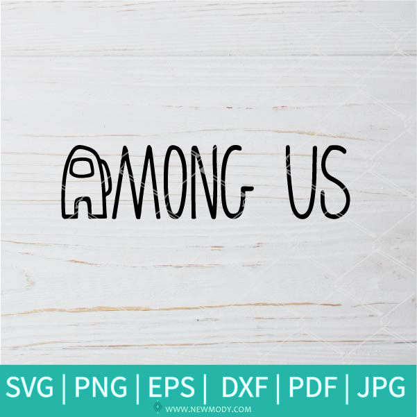 Among Us Logo SVG - Among Us SVG - Among Us Video Game SVG - Among Us Character SVG