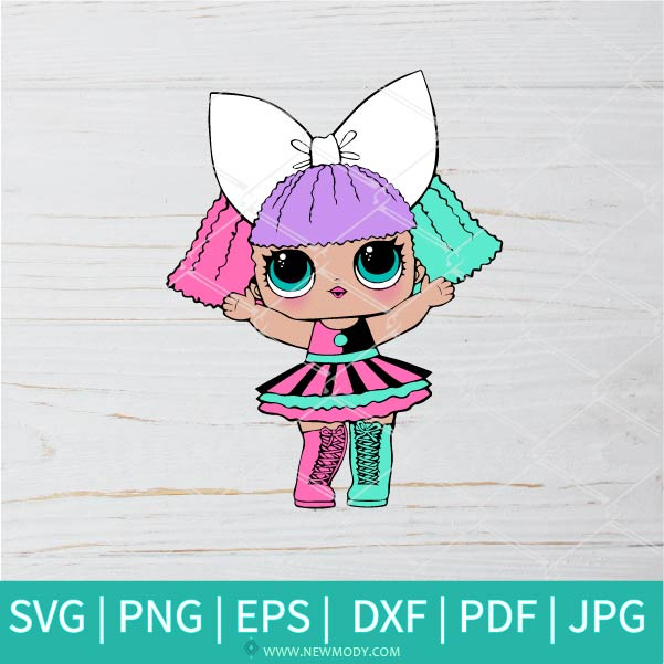 Pranksta SVG - Lol Surprise Dolls SVG - Lol Doll SVG