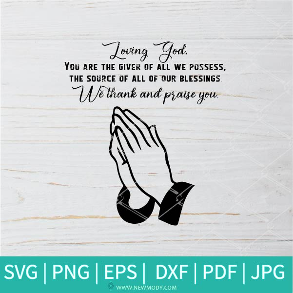 Hands Praying SVG - Parent In Prayer SVG - Prayer For My Children SVG - Power Of Prayer SVG