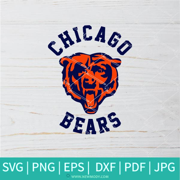 Chicago Bears SVG - Chicago Bears Logo SVG - American football SVG -Sport Team SVG