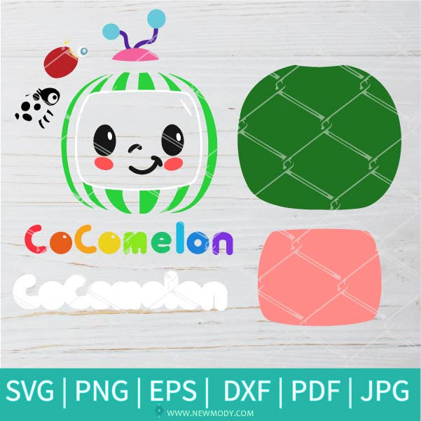 Cocomelon Bundle SVG - ThatsMEonTV SVG -  You Tube Kids SVG - CoCo Melon svg Ladybird beetle