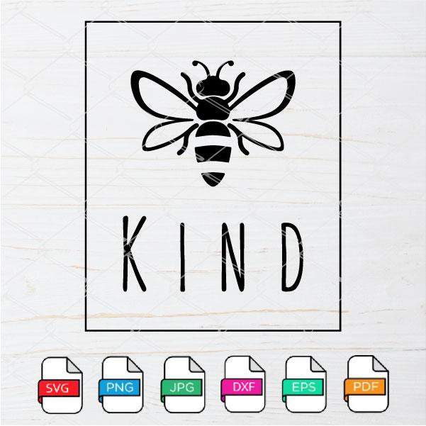 Bee Kind SVG - Bee Kind PNG