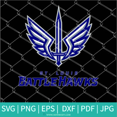 St Louis Battlehawks SVG - St Louis Battlehawks Logo PNG