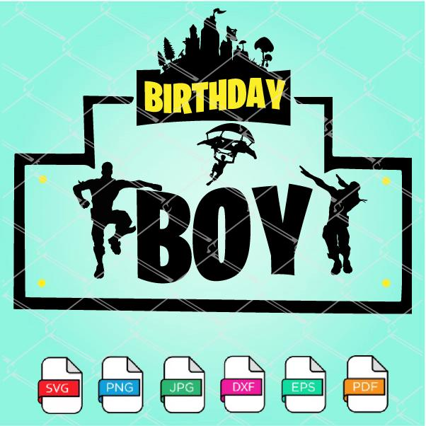 Birthday Boy SVG - Gaming Birthday Boy SVG
