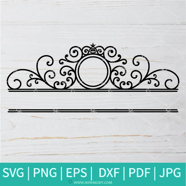 Mailbox Svg - Mailbox Monogram Svg - Custom Mailbox Decal Svg