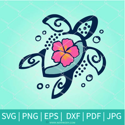 Sea Turtle Svg -Turtle Tattoo SVG