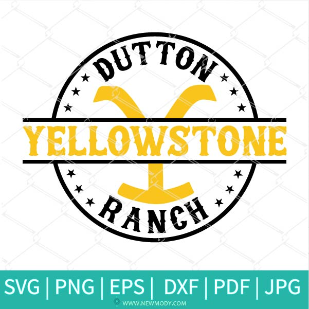 Yellowstone Dutton Ranch SVG - Yellowstone Png