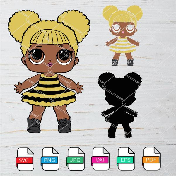 LOL Queen Bee SVG - LOL Queen Bee PNG